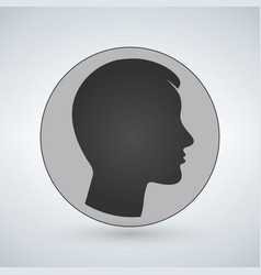 user sign icon person symbol human avatarflat vector image