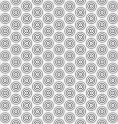 Abstract circle seamless pattern background vector