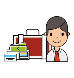 people business investment vector image