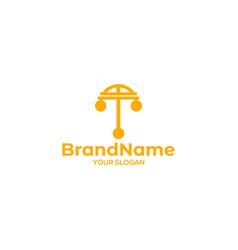 T pawn symbol logo design vector