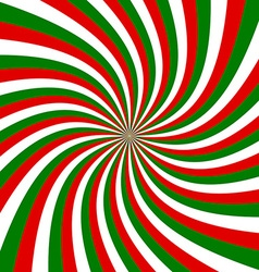 Twisted tricolor background vector