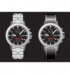 Wrist watches vector