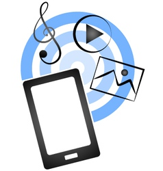 Receive files on mobile vector