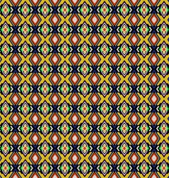 seamless background of geometric ornament vector image vector image