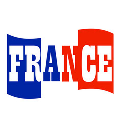 commemorative france symbol vector image