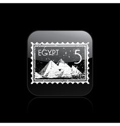egypt icon vector image vector image