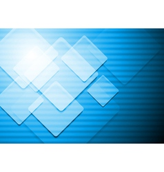 Vibrant blue background vector image vector image