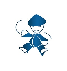Ninja-380x400 vector image vector image