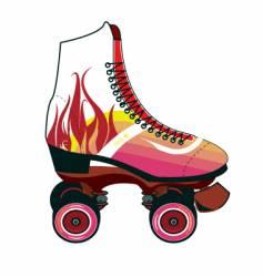 roller-skate vector image vector image