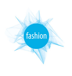 Abstract logo for fashion of vector