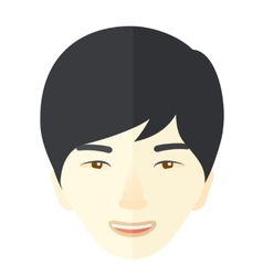 Japanese young guy vector image