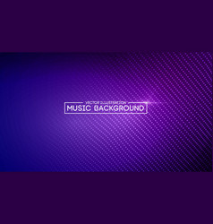 Music abstract background blue equalizer for vector