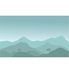 View hills vector