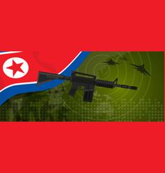 north korea or democratic people s republic of vector image vector image
