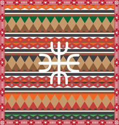 ornamental autumn design vector image vector image