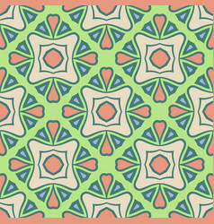 Abstract seamless pistachio color pattern vector