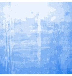 Blue Grainy Messy Wall vector