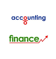 Business finance accounting logo vector