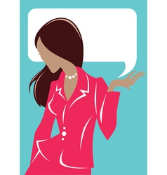 Business woman cards vector