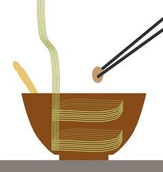 chop vector image