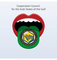Cooperation council for arab states gulf vector