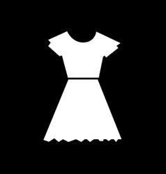 female dress icon design vector image