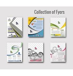Flyer Poster Design vector image
