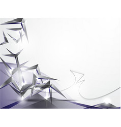 abstract background with volume figures vector image vector image