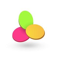 Creative logo template vector image