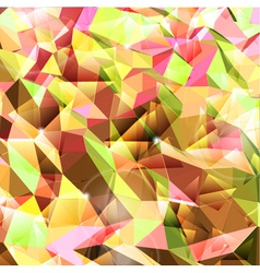 Abstract background Combination of triangle vector