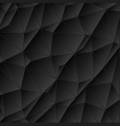 abstract vitrage - triangular dark gray scale grid vector image