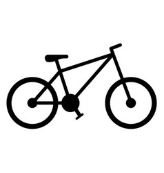 bicycle vehicle icon bike and sport activity vector image