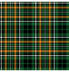 celtic fc green tartan seamless pattern fabric vector image