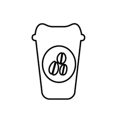 Coffee cup icon image vector