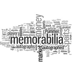 Is autographed sports memorabilia worth it vector