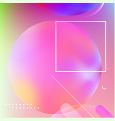 modern abstract cover vector image