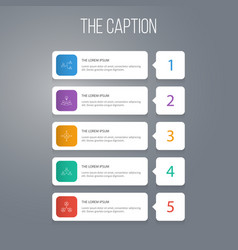 Outline teamwork set of business discussion vector