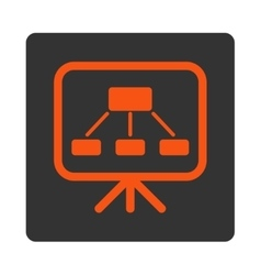Scheme Screen Icon vector image