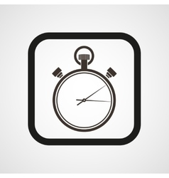 Stopwatch Icon Flat Simple vector