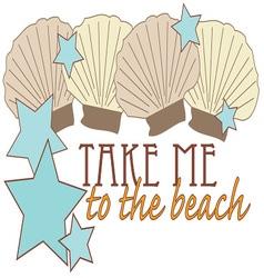 To The Beach vector