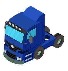 truck icon isometric style vector image
