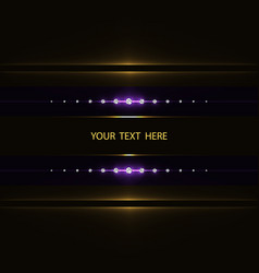 abstract light frame vector image vector image