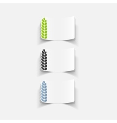 realistic design element vector image vector image