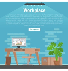 Collection stylish colors business work flow items vector