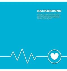 Heart sign icon Love symbol vector image vector image