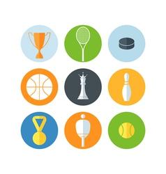 Sport Icon set vector image