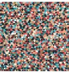 abstract geometric background triangles vector image