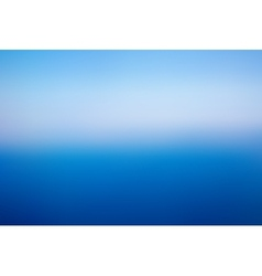 Blue blurred abstract background vector image