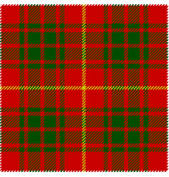Clan bruce scottish tartan plaid seamless pattern vector