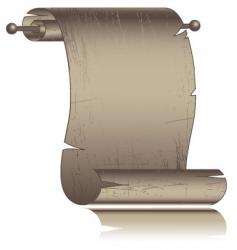 parchment illustration vector image